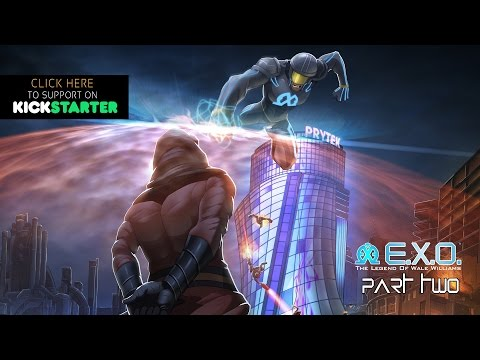 E.X.O. Part 2 Kickstarter Trailer (An African Superhero Comic)