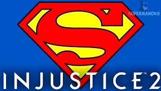 """THE GREATEST SUPERHERO OF ALL TIME! #HAPPYBIRTHDAY - Injustice 2 """"Superman"""" Gameplay"""
