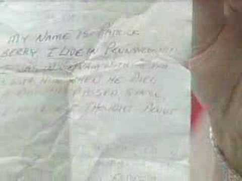 Vietnam Veteran Leaves Note on Fellow Vet