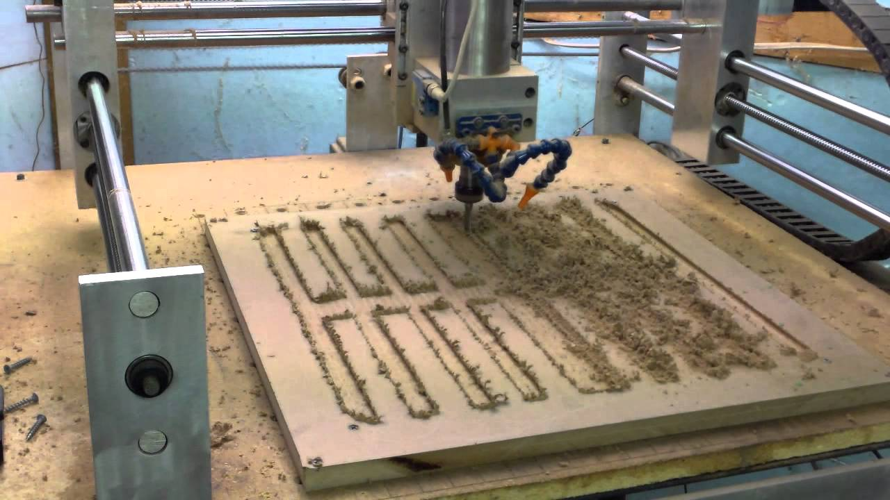 Homemade CNC making Vacuum Table - YouTube