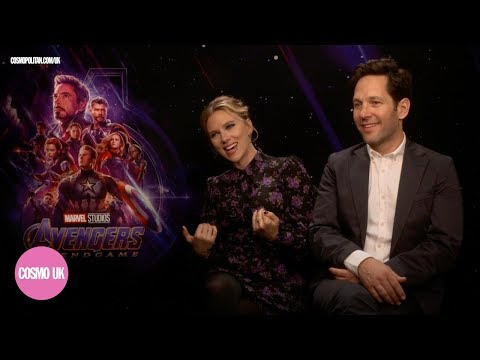 Scarlett Johansson & Paul Rudd On Weird Avengers: Endgame Fan Questions & The Secret To Paul's Youth