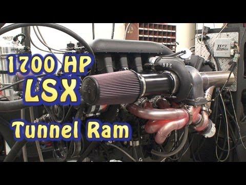 New 1700 HP Tunnel Ram Alien 427CI(7L) LSX.  Mid Engine Design.  NRE.  Its a Beast.  Its a Pussycat.