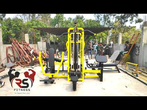 6  Station Multi Gym 💪 For Commercial Or Home Use .
