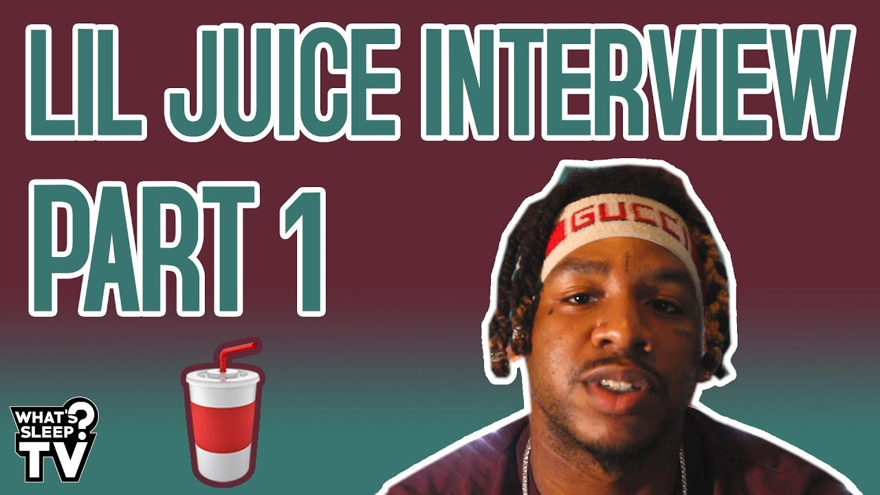 Lil Juice Talks Rebranding, Meeting Tay Keith, & Tay Keith Using His Voice For His Beat Tag