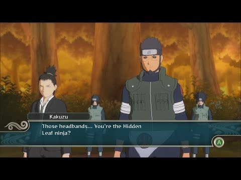 Naruto Ninja Storm 2 Trilogy PC MOD Walkthrough Part 10 60 FPS - Edo Asuma vs Pre Akatsuki Hidan