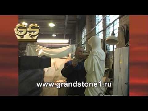 видео: Памятники и надгробия из гранита и мрамора от grand stone