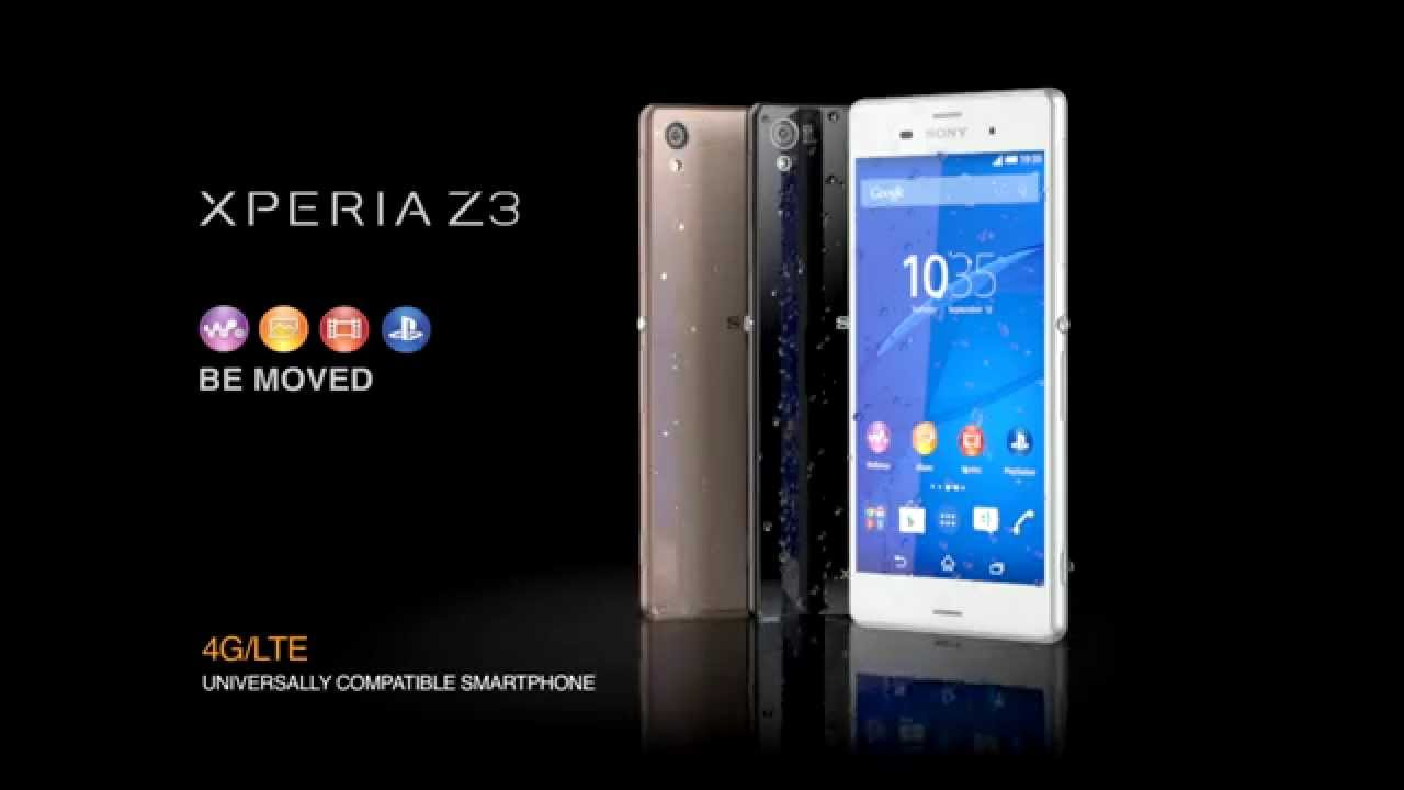 newest 49b27 50085 Xperia™ Z3 series – introducing the best ever Sony waterproof* smartphone  technology