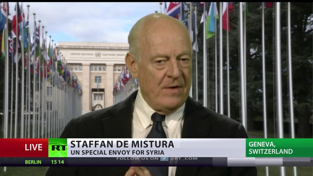 'I've lost a friend; UN, Russia lost one of their best diplomats' - de Mistura on Churkin's death