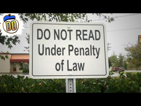 50 Dumbest Laws From American States