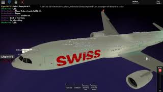 Vol avec Swiss International Airlines (fr) Roblox