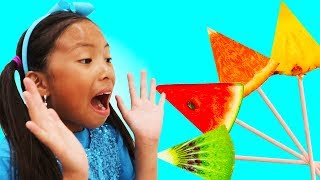 Learn Colors With Fruits Song  Wendy Pretend Play Nursery Rhymes And Kids Songs