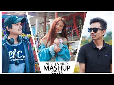 NEW NEPALI AND HINDI MASHUP COVER SONG || JWALA X BIKASH X JENNY