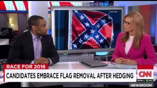 Marc Lamont Hill: Confederate Flag Is 'America's Version Of A Swastika'