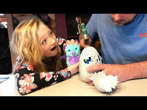 Thumbnail: Never use a Hammer to open Hatchimals opening Burtle and Draggle