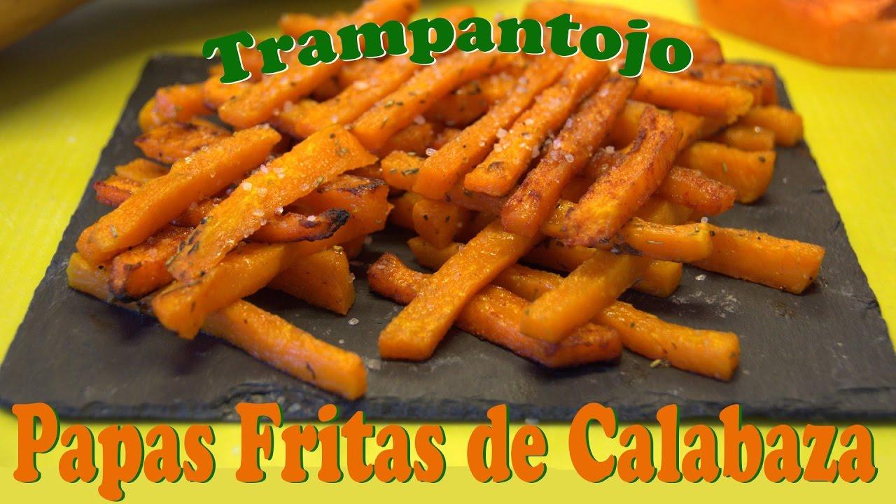 Papas Fritas De Calabaza Trampantojo Las Recetas Del Hortelano - Recetas-de-calabaza-frita