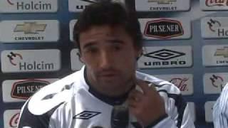 Juan Manuel Salgueiro ya entrena con Liga de Quito