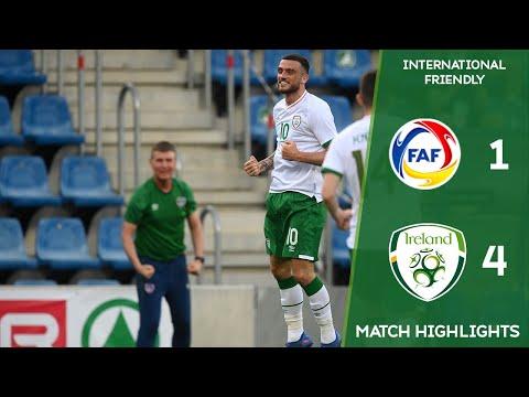 HIGHLIGHTS | Andorra 1-4 Ireland - International Friendly