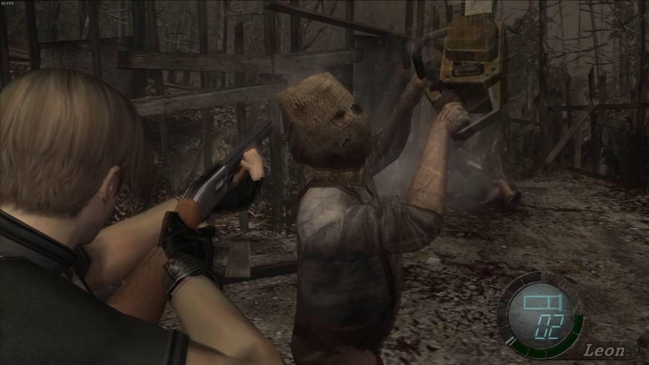 Resident Evil 4 Chainsaw Guy Resident Evil 4 - Chai...