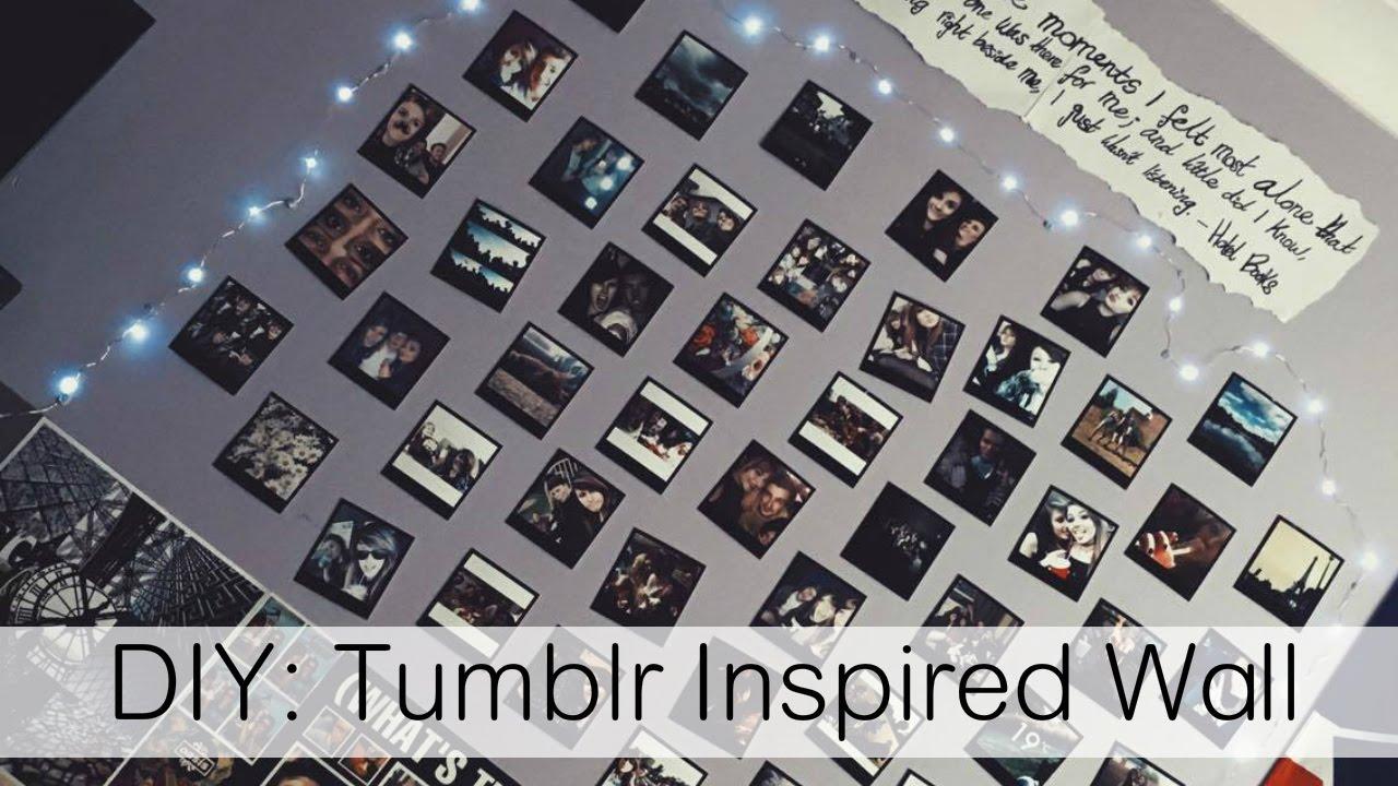 diy tumblr inspired polaroid