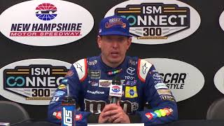 Eight-car wreck defining moment at New Hampshire, Kyle Busch escapes in 'close call' thumbnail