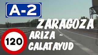 A-2 Autovía del Nordeste , Zona Ariza - Calatayud , Zaragoza / Highways in Spain