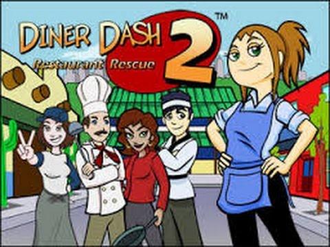 Random Game - Diner Dash 2 - Levels 1-4