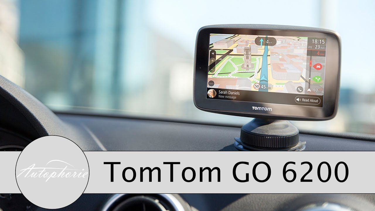 tomtom go 6200 inkl wifi unboxing und review tomtom. Black Bedroom Furniture Sets. Home Design Ideas