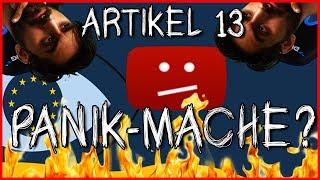 Artikel 13 - Alles nur Panik-Mache ? #SaveYourInternet