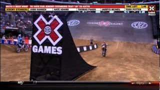 2011 X Games MotoX Best Whip