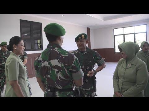 Kasad Terima Laporan Korps Kenaikan Pangkat 18 Pati TNI AD