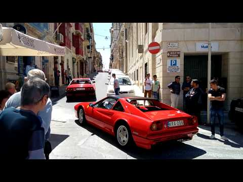 Ferraris at Birgu, Malta
