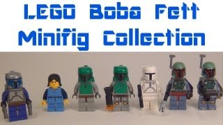 LEGO Boba Fett & Jango Fett Minifigure Comparison LEGO Star Wars Review