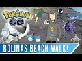BOLINAS BEACH WALK! Monarch Butterfly Grove, Whale Bones and Shiny Sableye Encounter! OH MY!