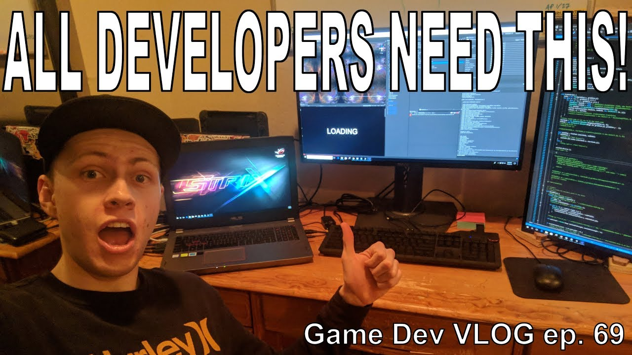 EPIC Game Development Setup 2018 - Game Development VLOG ...