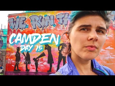 I Ate So Much Food In Camden | Day 15 Travel Vlog | Trip Aro
