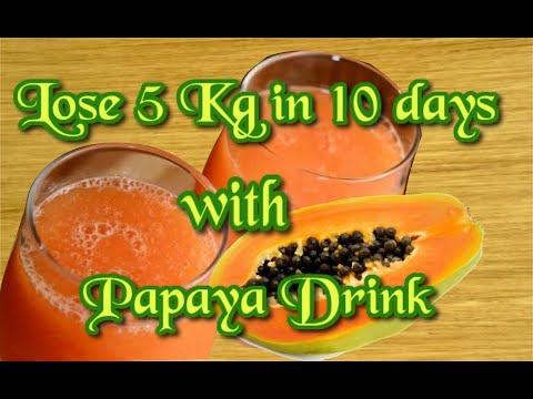 Papaya weight loss, Papaya smoothie for weight loss, Natural remedies for indigestion