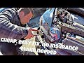 How I Repaired My Car Accident Damage Cheap