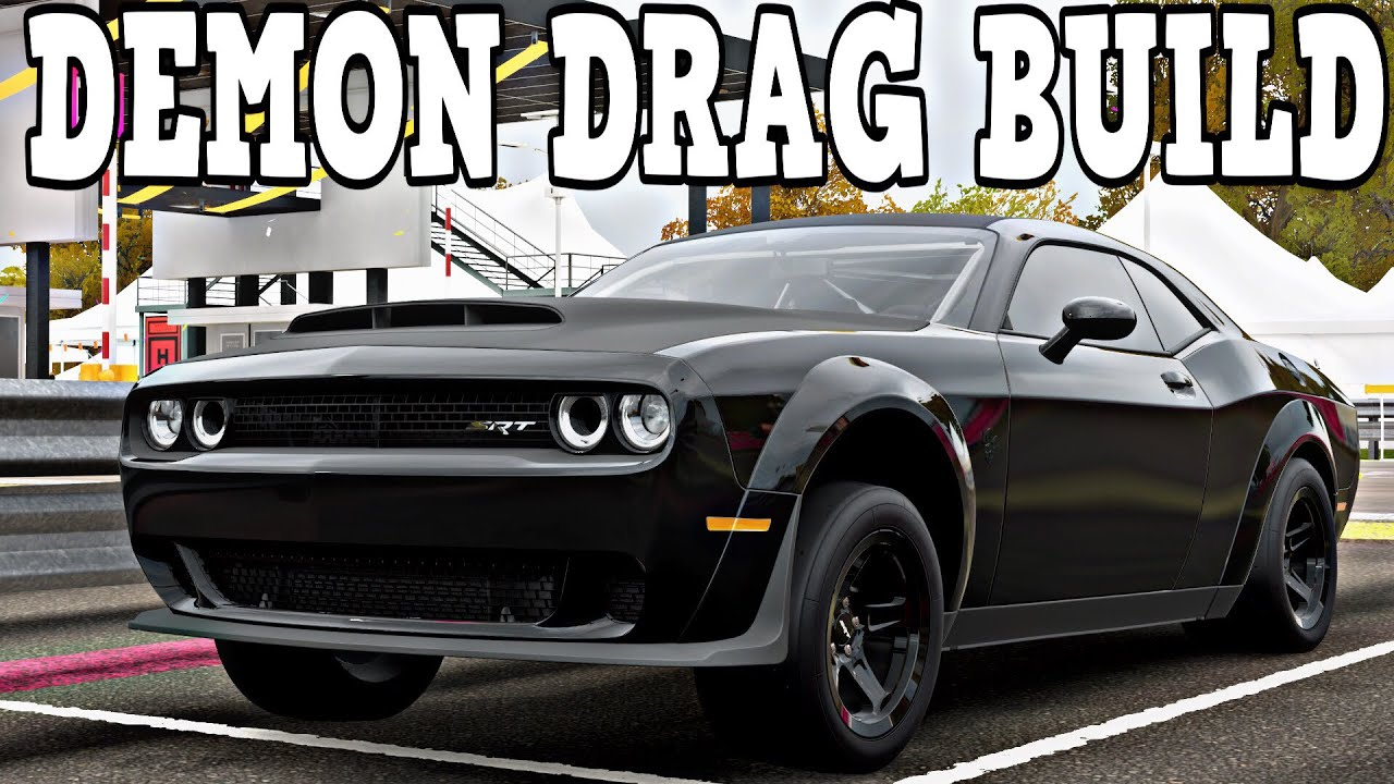 Build A Dodge >> Forza Horizon 4 Dodge Demon Drag Build Build Tune W Commentary