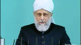Español Friday Sermon 31 July 2009, Thankfulness on blessed conclusion of Jalsa Salana UK