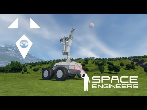 Deep Mining Rover Trailer | Space Engineers