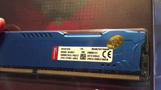 unbagging For 8GB 16GB 32GB Kingston HyperX PC3-14900 DDR3-1866MHz DIMM Desktop RAM ZUK