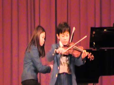 Telemann G major II (viola)  --Joshua played viola won the 2012 champion