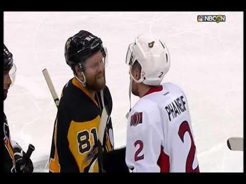 NHL Penguins - Senators Chris Kunitz OT goal Playoff
