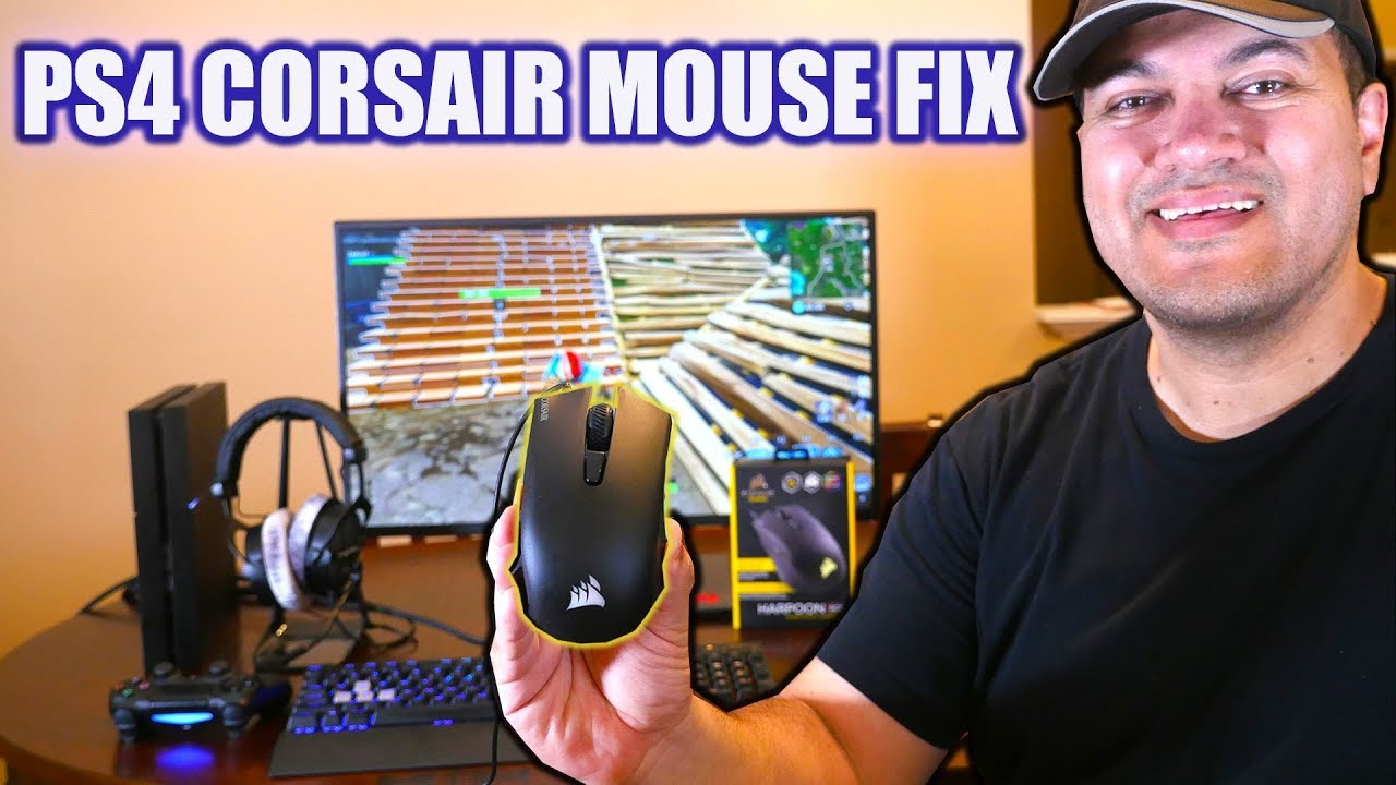 How to Connect CORSAIR Mouse to PS4
