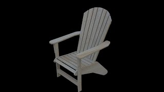 Blender Tutorial: Adirondack Chair Part 2