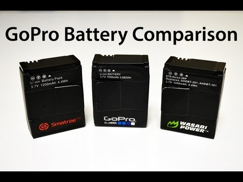 gopro hero3 third party battery comparison review youtube. Black Bedroom Furniture Sets. Home Design Ideas