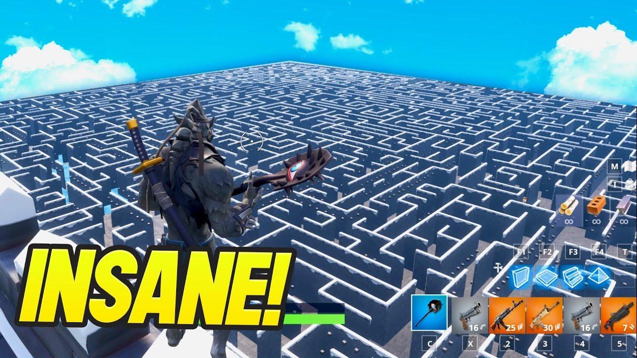 Fortnite Creative Codes Maze Reddit | Fortnite Aimbot