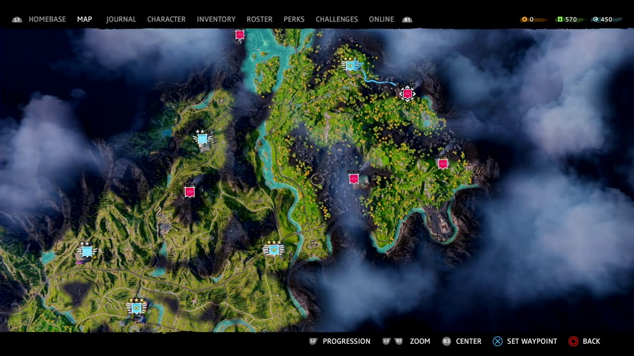 Far Cry New Dawn All Outposts Locations Youtube