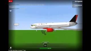 roblox air bloxx airbus a320 flight at vilnius airport
