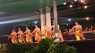 Tari Bedhaya Kusuma Wilayajana - Javanese Traditional Classic Dance- Catur Sagatra 2018